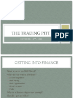 Investment Banking, Sales and Trading, And Proprietary Trading