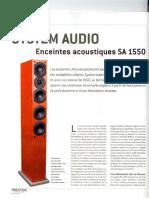 35 SA1550 Prestige Audio France Nov. 2005