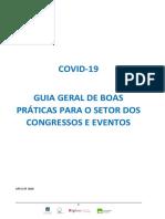 APECATE - CONGRESSOS E EVENTOS Linhas de orientação COVID