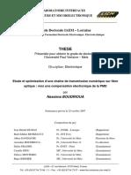 Compensation Électronique de La PMD - Nassima BOUDRIOUA 2007