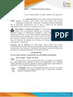 Anexo 1 - Ficha de Lectura Critica