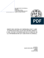 DISEÑO DE SISTEMA DE AIRE ACONDICIONADO PARA SALON MAYOR DEL MODULO G DEL CENTRO UNIVERSITARIO DE OCCIDENTE DE LA UNIVERSIDAD DE SAN CARLOS DE GUATEMALA