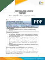 Guia de actividades y Rúbrica de evaluación - Unidad 1- Fase 1