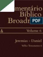 Comentário Bíblico Broadman. Volume 6