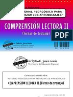 Cuadernillo COMPRENSIÓN LECTORA II - Fichas de Trabajo