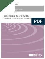 Taxonomía NIIF 2020