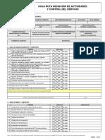 309426328 Formulario Hoja de Ruta de Servicios Integral