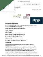 Gmail - Citas IMAP - Fundación Salud Mía EPS