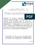 Capitulo i - Generalidades Del Eia
