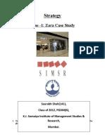 Zara case assignment   Zara Case study   Zara uses all the                   ZARA  Fast Fashion Case Study M anagement I nformation S ystems January