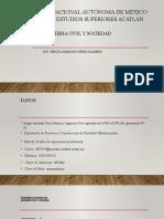 Ingenieria Civil y Sociedad Presentacion