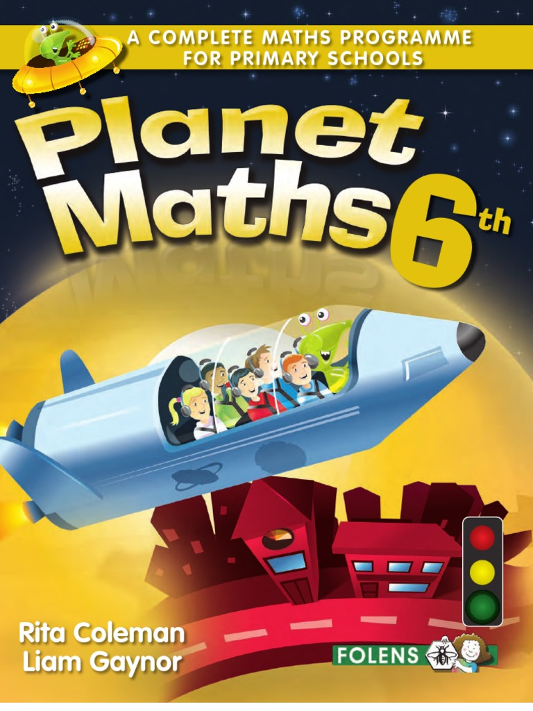 6th class maths book