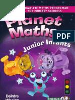Planet Maths Junior Infants - Sample Pages