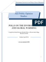 Polls on the Environment and Global Warming
