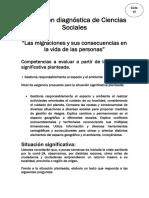 Evaluación diagnóstica de Ciencias Sociales