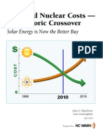 Blackburn2010_Solar and nuclear cost Historic crossover_DukeUniversity