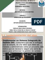 UNIDAD 3 SISTEMAS INTEGRADOS DE GESTION