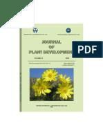 Journal of Plant Development2009