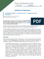 ? Environnement _ définition et explications