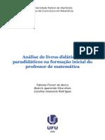Análise de Livros Didáticos e Paradidaticos