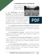 TEMA # 11.   LA RESURRECCION DE LOS MUERTOS