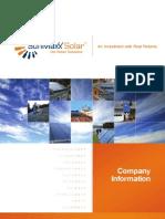 SunMaxx Company Info Brochure