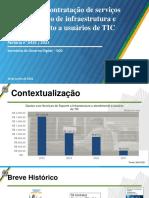 Modelo de Infraestrutura e Atendimento ao Usuário de TIC