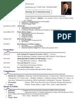 Lahrir Zakaria - Marketing & Communication - CV