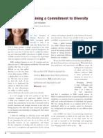 Diversity Journal | Training a Commitment to Diversity - Jan/Feb 2010