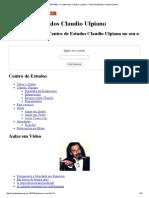 Aula de 27_07_1995 – O sentimento, o afeto e a pulsão « Centro de Estudos Claudio Ulpiano