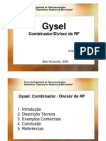 GYSEL - FILTER / DUPLEX / COMBINER - TUTORIAL