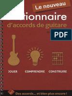 eBook Dictionnaire Daccords de Guitares