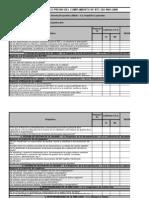 Check List Iso 9001 2008 | Sistema de manejo de calidad ...