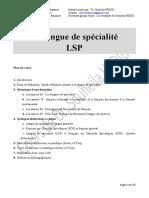 Les Langues de Specialite LSP S Heddid