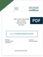 La Cybercriminalité (1)