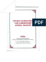 CPCSEA GUIDELINES FOR LABORATORY ANIMAL FACILITY