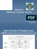 Starbucks- Delivering Customer Service lmt