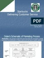 Starbucks- Delivering Customer Service lmt