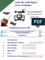 Elements de Robotique Avec Arduino - Communications RF - Projection - MASSON