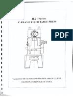 Раздел-1 Штамп для перфорации профиля RHS117