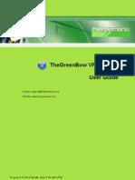 TheGreenBow VPN Mobile - User Guide
