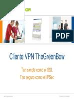 TheGreenBow IPSec VPN Client - Quick presentation (espanol)