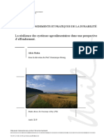 La Resilience Des Systemes Agroalimentaire