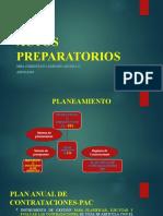 ACTOS PREPARATORIOS