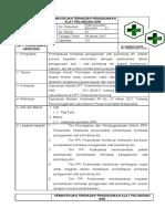 8 SOP Pemantauan Terhadap Penggunaan APD