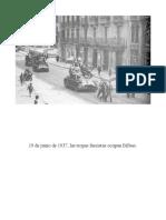 19 de Junio de 1937, Las Tropas Fascistas Ocupan Bilbao