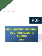 Reglamento General del Parlamento Andino