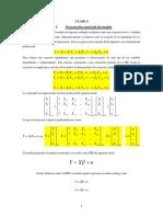 Modelo Matricial MCO