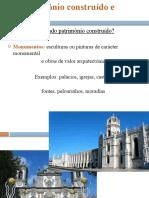 2. Patrimonio construido e cultural