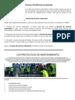 Protocolo de Servicio Automotriz...